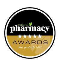 Natural Pharmacy Awards Best Product 2012