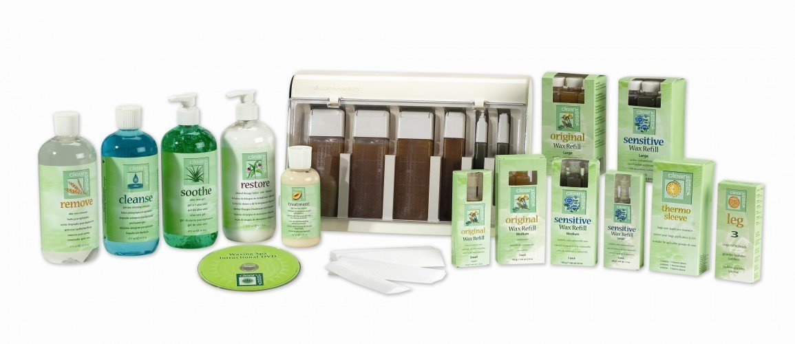 clean+easy Waxing Kit Roller
