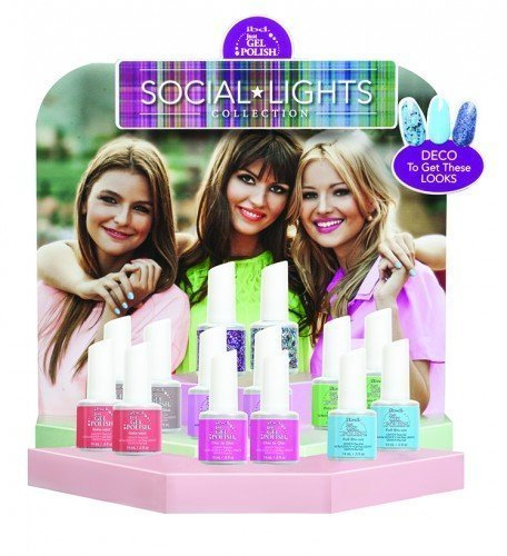 ibd Just Gel Polish Social Lights 24pc Display