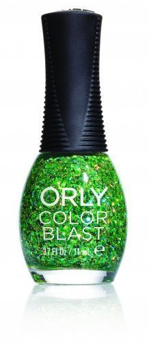 ORLY Color Blast Lime Green Chunky Glitter (11ml)