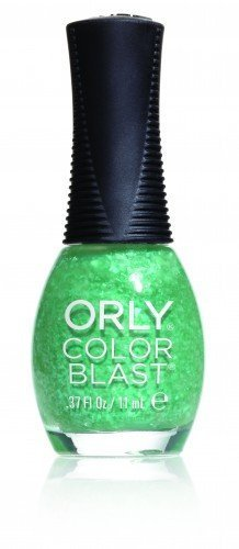 ORLY Color Blast Green Flakie Matte Top Coat (11ml)