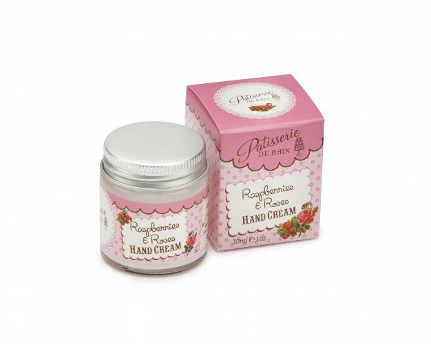 Patisserie de Bain Hand Cream Raspberries  Roses Jar (30ml)