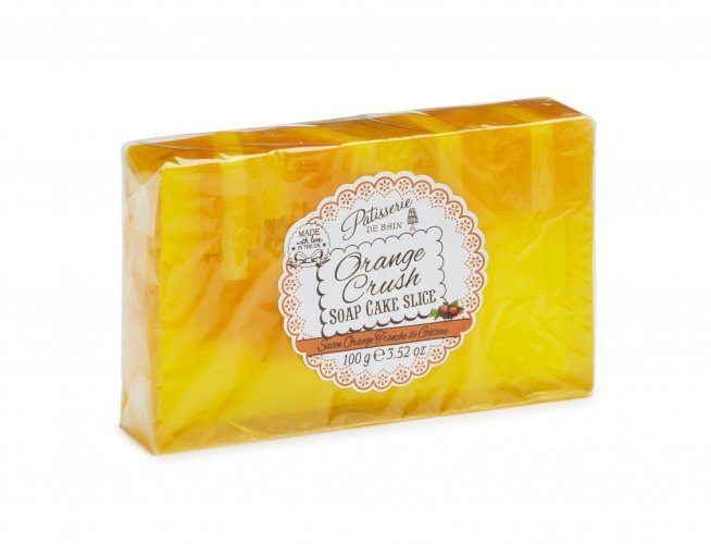 Patisserie de Bain Soap Cake Slice Orange Crush