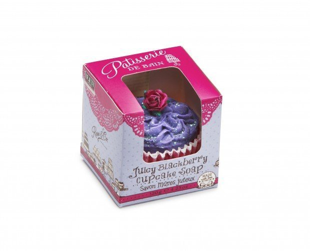 Patisserie de Bain Cupcake Soap Juicy Blackberry