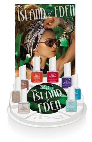 ibd Just Gel Polish Island of Eden Gel Display