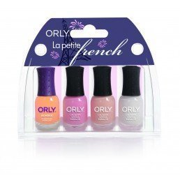 ORLY Nail Polish La Petite French (4pc)
