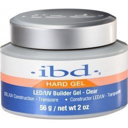ibd LED/UV Builder Gel Clear (0.5oz)