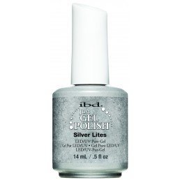 ibd Just Gel Polish Silver Lites (14ml)