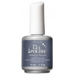 ibd Just Gel Polish Pretty in Pewter (14ml)