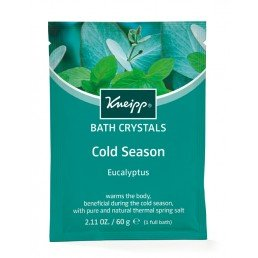 Kneipp Mineral Bath Salt Crystals Cold Season Eucalyptus