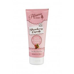Patisserie de Bain Shower Crème Strawberry Cupcake