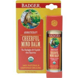 Badger Balm Display Cheerful Mind (6pc x17g)