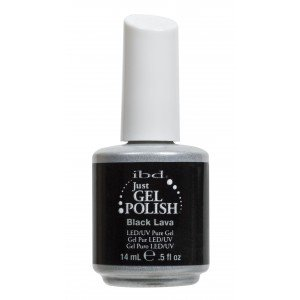 ibd Just Gel Polish Black Lava (14ml)