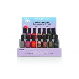 ORLY EPIX Flexible Color Mulholland Autumn 21pc Display
