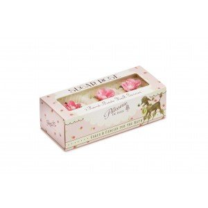Patisserie de Bain Bath Fancies Sugar Rose Set (3 x 45g)