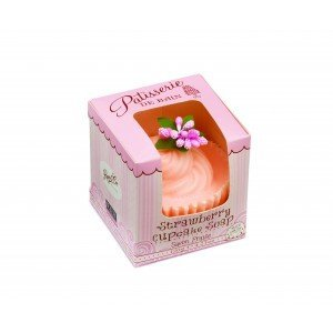 Patisserie de Bain Cupcake Soap Strawberry Cupcake