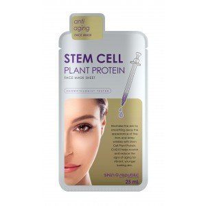 Skin Republic Face Mask Stem Cell Plant Protein (10pk)