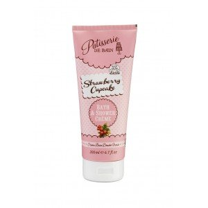 Patisserie de Bain Shower Crème Strawberry Cupcake (200ml)