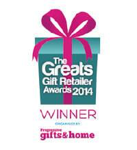 The Great Gift Retailer Awards Winner 2014