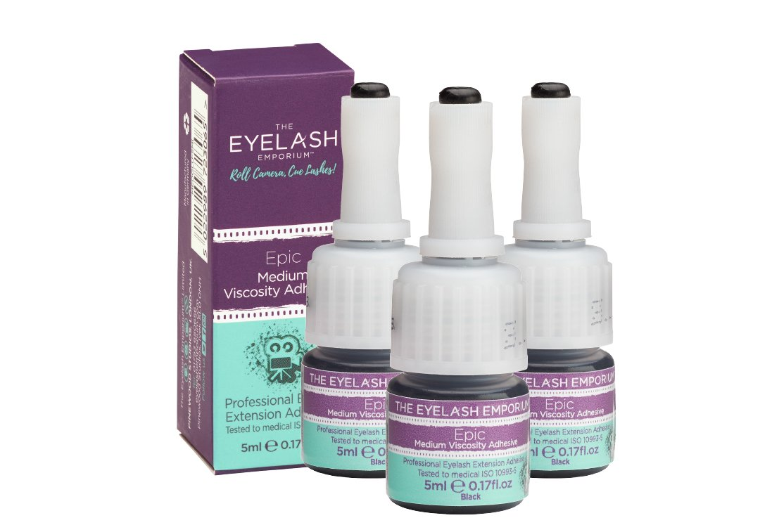 THE ULTIMATE EYELASH ADHESIVE