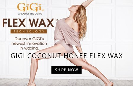 Gigi Flex Wax Coconut Honee