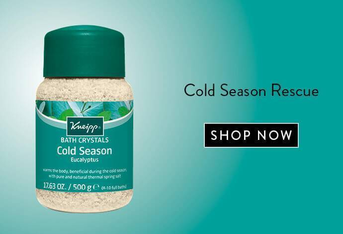 Kneipp Cold Season Bath Salt Crystals