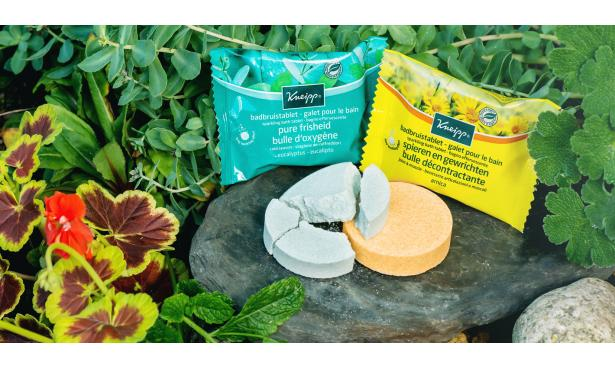 Discover the new Sparkling Bath Tablets from Kneipp