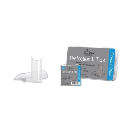 EzFlow Perfection Tips Crystal Clear 100ct