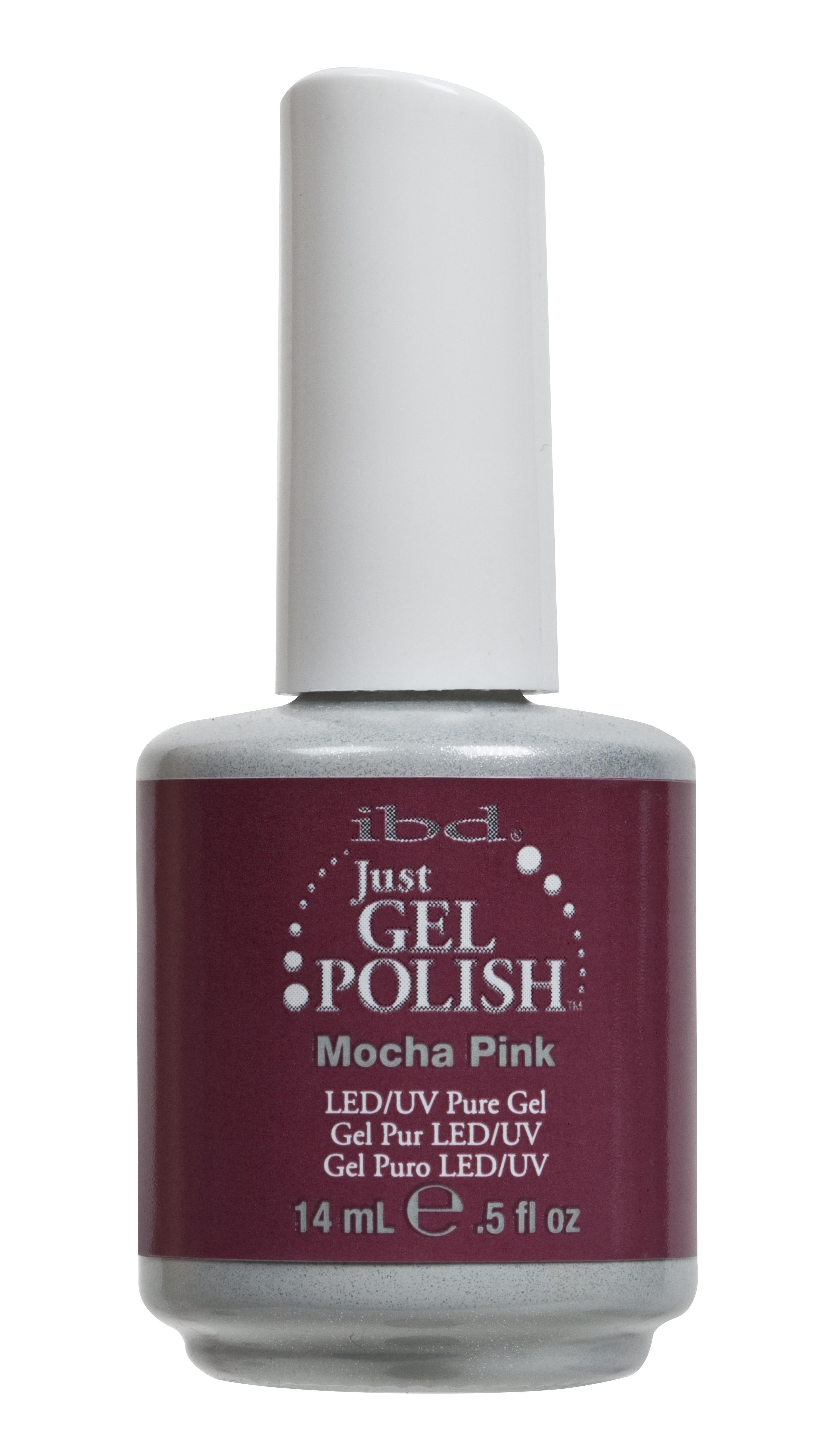 Ibd Just Gel Polish Mocha Pink 14ml Graftons