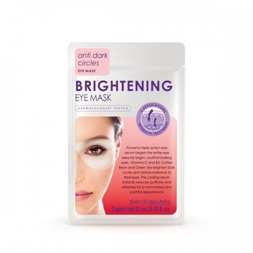 Skin Republic Eye Mask  Brightening  3 pairs 18g 10pk
