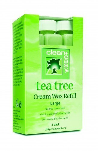 clean+easy Specialist Tea Tree Roller Wax Tea Tree (3pk)