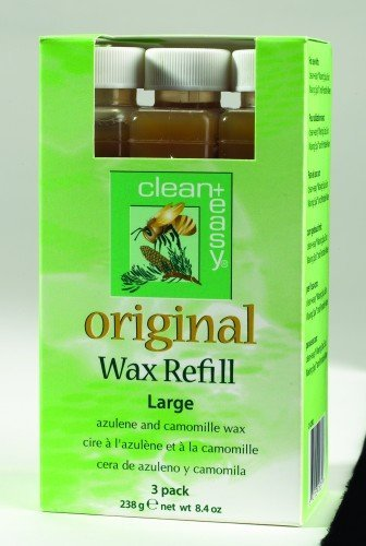 clean+easy Roller Original Wax Large (3pk)