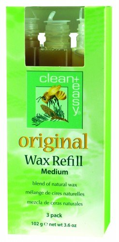 clean+easy Roller Original Wax Medium (3pk)