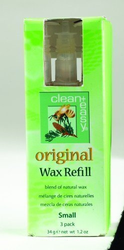 clean+easy Roller Original Wax Small (3pk)