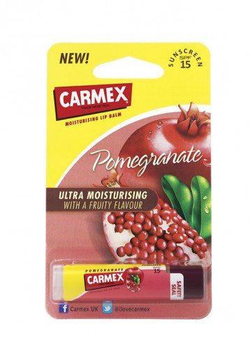 Carmex Lip Balm Premium Stick Pomegranate (4.25g)