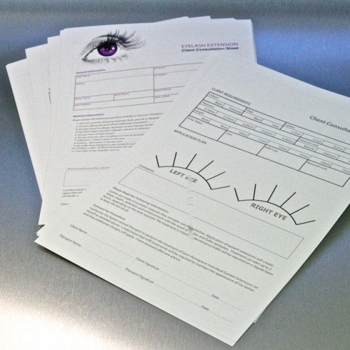 Consultation Sheets (Pack of 50 A4 Sheets)
