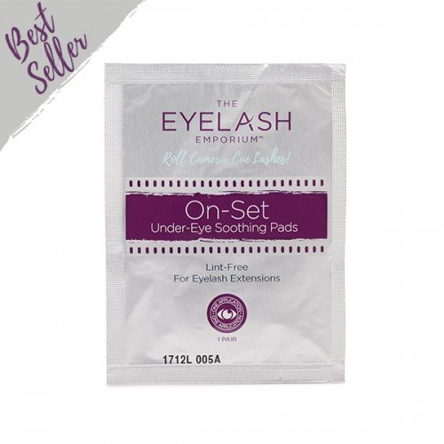 The Eyelash Emporium On Set Soothing Under Eye Pads 50 pack