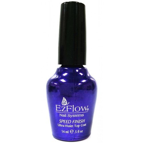 EzFlow Speed Finish UV Top Coat (0.5oz)