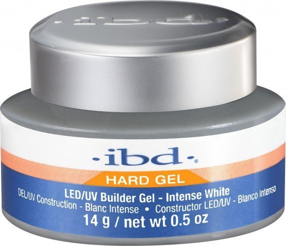 ibd LED/UV Builder Gel Intense White (0.5oz)