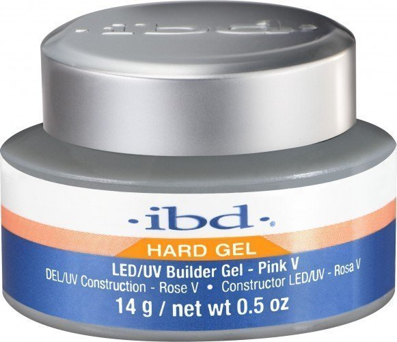 ibd LED/UV Builder Gel Pink V (0.5oz)