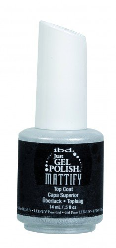 ibd Just Gel Polish Mattify Top Coat (14ml)