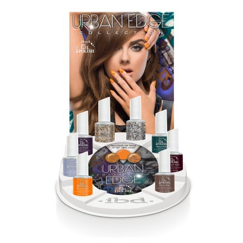 ibd Just Gel Polish Urban Edge Display (14ml)