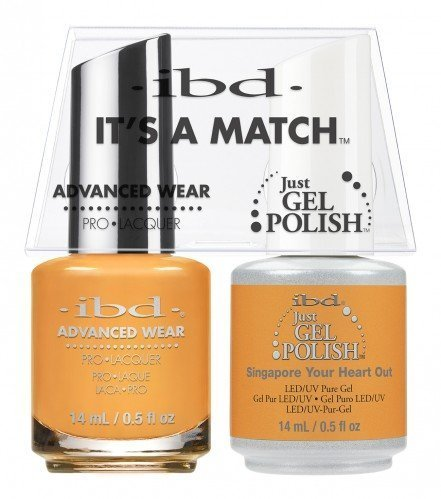 IBD IT'S A MATCH DUO JGP  ADVANCED WEAR SINGAPORE 14ML