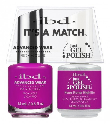 IBD IT'S A MATCH DUO JGP  ADVANCED WEAR HONG KONG 14ML