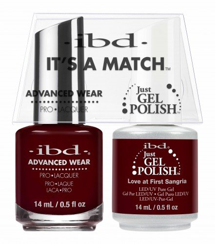 IBD IT'S A MATCH DUO JGP  AW LOVE FIRST SANGRIA 14ML