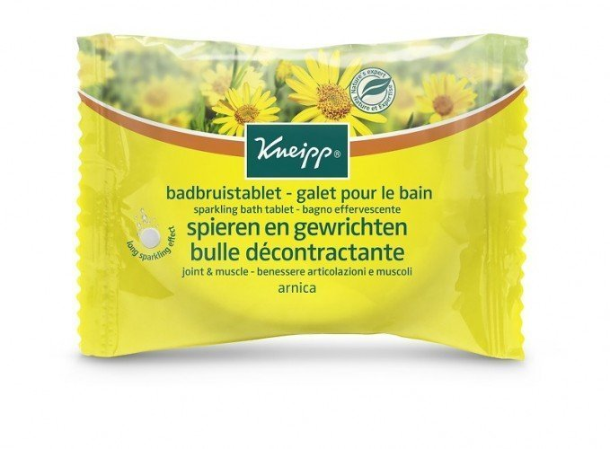 Kneipp Sparkling Bath Tablet Joint  Muscle Arnica (80g)