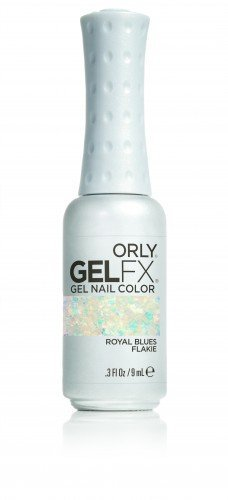 ORLY Gel FX Special £ Royal Blues Flakie (9ml)