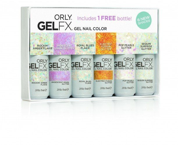 ORLY Gel FX Special £ Multi-Chromatic Gel FX 6pc