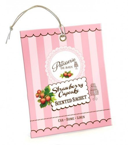 Patisserie de Bain Scented Sachet Strawberry Cupcake