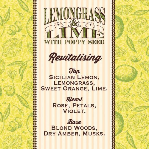 Rose  Co. Apothecary Soap Lemongrass  Lime w/Poppyseed (100g)